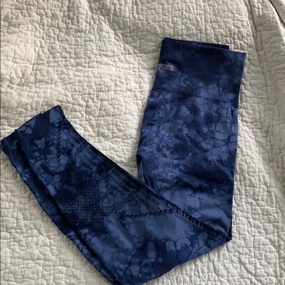 PINK Victoria's Secret Pants - Women's Victoria secret tie die leggings
